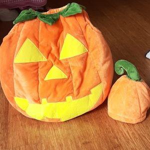 Pottery Barn Kids pumpkin costume 2T-3T